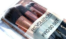 Makeup Revolution Pro Go Make up Brush Set Foundation brush eye shadow brush ect