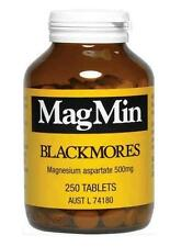 BLACKMORES MAGMIN 250 TABLETS - vitamins magnesium deficiency tablet mag min