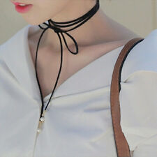 Beautiful Korean Style Women Lady Pearl Bow DIY Necklace Beautiful Choker New