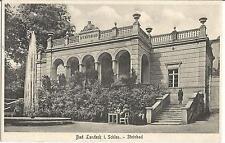 Bad Landeck, Schlesien, Steinbad, alte Ansichtskarte von 1929