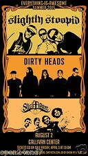 """SLIGHTLY STOOPID / DIRTY HEADS / STICK FIGURE """"AWESOME TOUR 2015"""" CONCERT POSTER"""