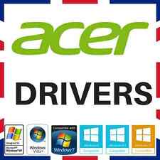Acer ordinateur portable & pc drivers recovery restore disque dvd fix repair windows XP/7/8/10