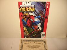 "Ultimate Spider-Man #1 '00 -rare- DYNAMIC FORCES ""MARK BAGLEY"" autograph w/cert"