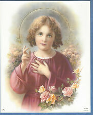 """Catholic Print Picture of the Holy Child Jesus Blessing 8x10"""" Simeone"""