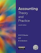 Accounting: Theory and Practice, 7th Ed., Underdown, Prof Brian Paperback Book