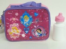 "Disney's ""PRINCESS"" Lunch Bag With Water Bottle (Pink)"