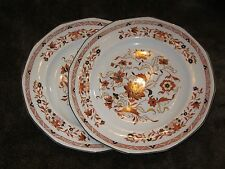 "Set of 2 Wedgwood Vintage KASHMAR Dinner Plates ~ 10.25"" ~ Fabulous Condition!"