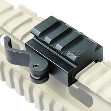 """QD 1/2"""" Riser Rifle Base Scope Mount W/ Flat Top 20mm Picatinny Rail Tactical"""