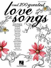 CMT's 100 Greatest Country Love Songs Piano/Vocal/Guitar Songbook)