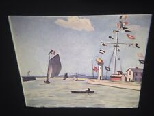 "Albert Marquet ""Honfleur"" Fauvism French Art 35mm Glass Slide"