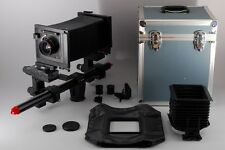 【MINT+++】 Sinar P2 4x5 Large Format Film Camera + Nikkor W 180mm From Japan#1550
