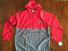 TWELVE BAR CO ZIPPER  PULLOVER  RED & GREY  (LARGE) $ 145