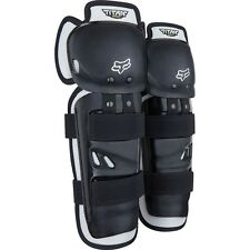 Fox Racing Youth Titan Sport Knee & Shin Guards MX ATV BMX One Size black Kids