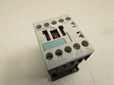 SIEMENS SIRIUS CONTACTOR 3RT1017-1BB42 DC24V COIL XLNT MAKE OFFER!!