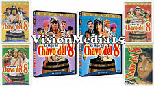 SEALED 6 Pack El Chavo Del 8 Ocho DVD VOl 1 2 3 4 5 6 Super Coleccion SHIPS NOW