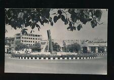 Pakistan KARACHI Victoria Rd Singing fountain c1960s? RP PPC