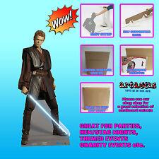 Star Wars Anakin Skywalker LIFESIZE CARDBOARD CUTOUT  NIGHT JEDI