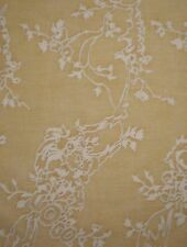 FORTUNY FABRIC Venezianina Yellow Antique White Cotton Venice New Remnant