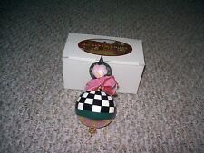 MACKENZIE-CHILDS CHRISTMAS ORNAMENT GUM DROP POLAND