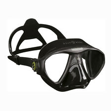 Aqualung Technisub micromask tutti NERO freediving Spearfishing 02uk MASCHERA