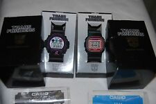 Transformers Megatron & Convoy G-Shock Watches DW-6900 & DW-5600 RARE Set Used