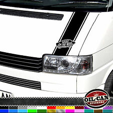 V DUBS ON THE ROAD VW T4 TRANSPORTER BONNET STRIPE multivan caravelle camper