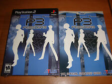 SHIN MEGAMI TENSEI PERSONA 3 Limited New Playstation 2 GAME & STRATEGY GUIDE LOT