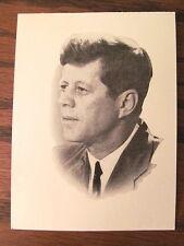 JOHN F KENNEDY ASSASSINATION FUNERAL PRAYER CARD 1963