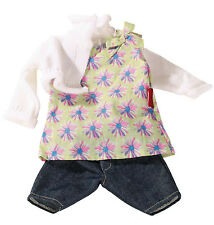 Gotz Hannah Play Doll Tunic Top, Cardigan, Denim Shorts NEW