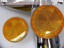 Honda CB 750 Four K2  -  K6 Reflektor Set für Lampenhalter  F - 8