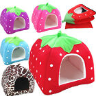 Warm Soft Fleece Puppy Pets Dog Cat Bed House Basket Nest Mat Pets Fairy House