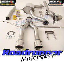 Milltek Leon Cupra R 265PS 10-12 Exhaust Turbo Back Inc Decat Downpipe SSXSE142