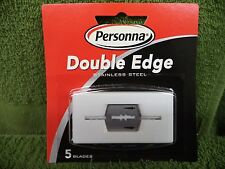 Personna Double-Edge Stainless Steel Razor Blades - Pack of 5 (#898)
