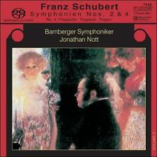 "Schubert: Symphonien Nos. 2 & 4 ""Tragische"" Super Audio Hybrid CD (CD, Jul-2005,"
