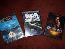 Bundle of 3 War of the Worlds DVDs 1953 Tom Cruise C. Thomas Howell Jake Busey