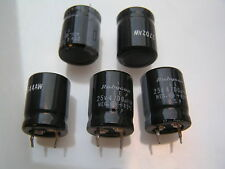 Rubycon Electrolytic Capacitor 25V 4700uf 85'C 5 pieces OL0618