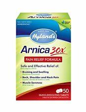3 Pack Hyland's Arnica Pain Relief Formula Quick Dissolve Tablet 50 Count Each