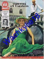 Point de vue n°528 du 25/07/1958 Martine Carol  Venise Louis Merlin