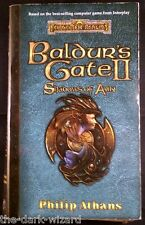 Baldur's Gate II : Shadows of Amn Paperback Novel Computer Game Tie-in Softcover