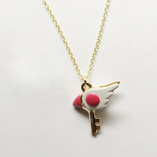 CARD CAPTOR SAKURA CIONDOLO NECKLACE COLLANA SHAORAN ANIME MANGA CLOW KERO CHAN