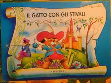 IL GATTO CON GLI STIVALI Francocci 1^'92 FAVOLE MAGICHE LA LUCCIOLA libro in 3D