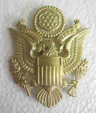 WWII USAAF Cap Badge Officer Visor Peaked AAF US Army Air Force WW2 Eagle New