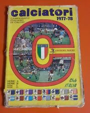 Album Figurine Calcio Panini 1977 / 1978