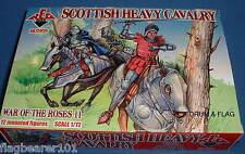Redbox 72056 Scottish caballería de guerra de los Roses pesado escala 1:72