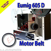 EUMIG 605D 8mm Cine Projector Belt (Main Motor Belt)