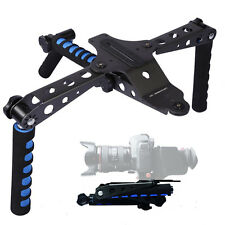 DSLR Cameras Rig Movie Kit Shoulder Mount for Canon EOS 7D 1D 5D II III 600D