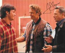 JOHN SCHNEIDER & TOM WOPAT DUAL SIGNED 8X10 PHOTO DUKES OF HAZZARD AUTOGRAPH