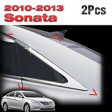 Chrome C Pillar Molding Trim Cover Garnish B901 for HYUNDAI 11-14 Sonata YF i45