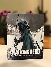 The Walking Dead Season 3 Blu Ray Steelbook