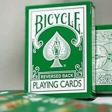 Reversed Back Bicycle Deck - Green Deck 2nd Generation Poker Size New Magic
